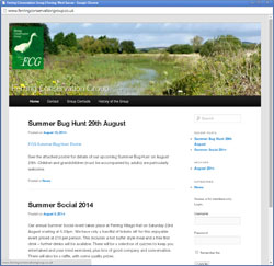 Ferring Conservation Group Website West Sussex