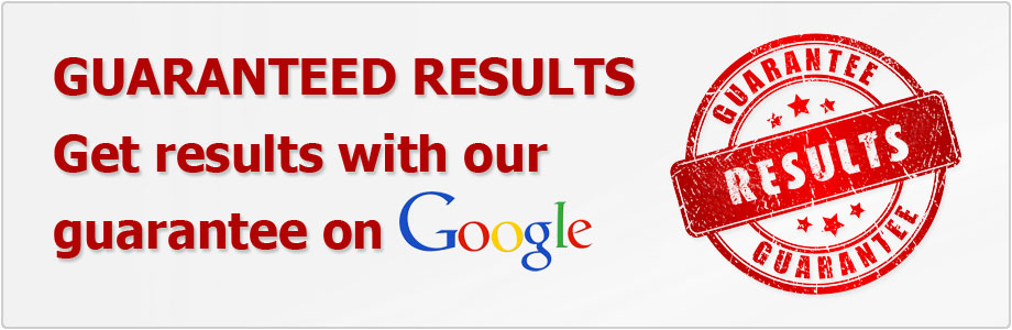 Guaranteed SEO results with our SEO improvement guarantee